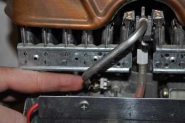 как отремонтировать газовую колонку. фото