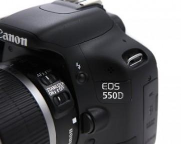Обзор зеркальной фотокамеры Canon EOS 550D